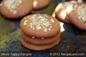 Chewy Double Peanut Butter Cookies