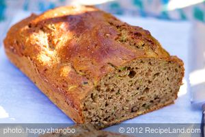 Anastasia's Whole Wheat Zucchini-Banana Bread
