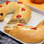 Halloween Spooky Calzone Snake