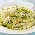 Nutty Coleslaw