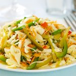 Luby's Spanish Slaw with Dressing