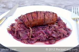 Crockpot Sausage and Cabbage