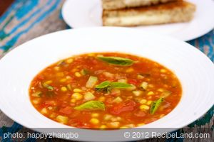 15 Minute Tomato Soup