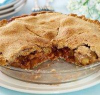 Apple Grape Berry Pie