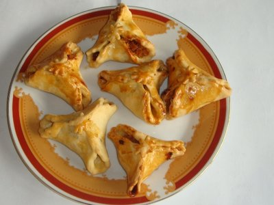 Homemade Pocket  Triangles