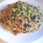 Vegan Rancheros Spaghetti