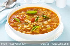 Fresh Tomato-Vegetable Soup