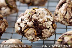 Double Chocolate Zucchini Walnut Cookies