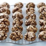Double Chocolate Zucchini Walnut Cookies