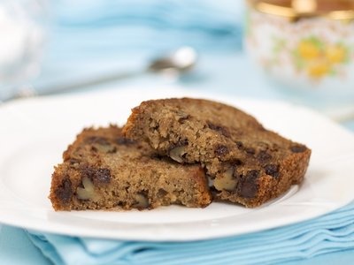 Chocolate Chip and Walnut Banana Bread