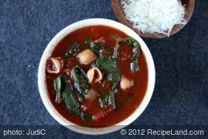 Judi's Tomato Florentine Soup