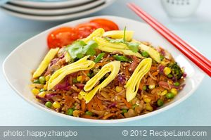 Cabbage Fried Rice