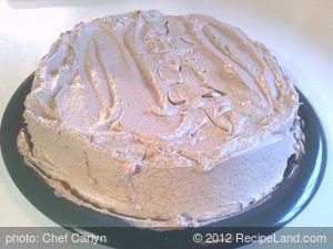 Seneca's Carob Cake