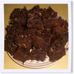 Gluten-Free Chocolate Chip Zucchini Brownies