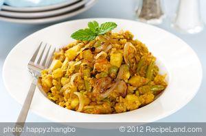 South African Vegetable Biryani