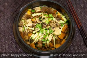Sweet Potato Miso Stew