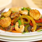 Shrimp and Sea Scallop Stir-Fry