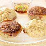 Cabbage and Shiitake Pot Sticky Buns