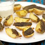Sage and Garlic Roasted Potatoes