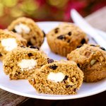 Baby Routh's Rosemary Muffins with Goat Cheese (Healthier Verdsion)