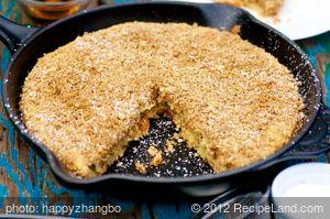 Apple Crisp Oven Pancake - Bisquick