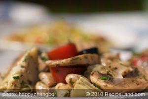 Artichoke Pasta Salad