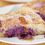 Almond Cream Cheese Stuffed French Toast