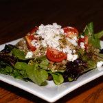 Couscous, Lentil and Arugula Salad with Garlic Dijon Vinaigrette