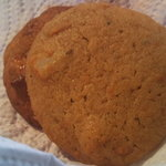 Persimmon Muffintop Cookies