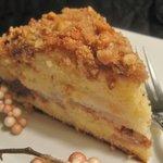 Pear Walnut Coffee Cake