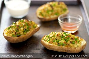 Indian Twice Baked Potatoes