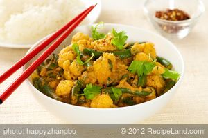 Thai Cauliflower Curry