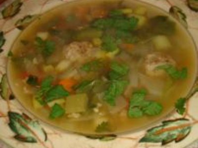 Grandma Fab's Shanghai Meatball Soup