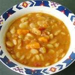 This flavorful soup is a wonderful alternative to bean and ham soups!