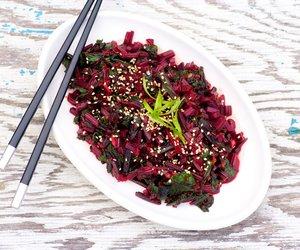 Asian Beet Greens Stir-Fry