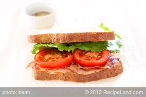 Almost BLT Sandwich