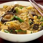 Shiitake, Green Bean and Potato Miso Stew