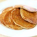 Banana Buttermilk Buckwheat Pancakes
