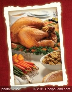 Turkey with Apricot Chardonnay Glaze