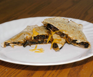Barbecue Portobello Quesadillas