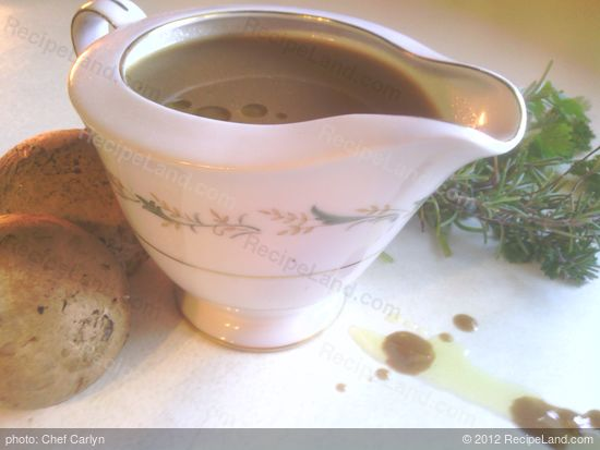 Gluten-free holiday gravy