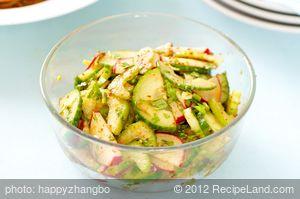 Korean Cucumber and Radish Salad