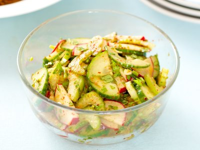 Korean Cucumber and Radish Salad