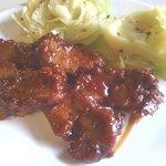 Bar B Q Seitan Dinner