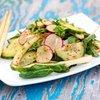 Cucumber, Bok Choy and Radish Salad