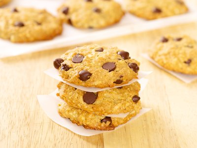 Oatmeal Whole Wheat Coconut Chocolate Chip Cookies