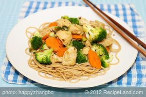 Oriental Chicken and Vegetable Stir-Fry