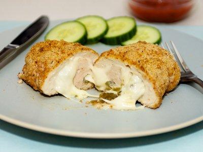 Mexican Stuffed Chicken