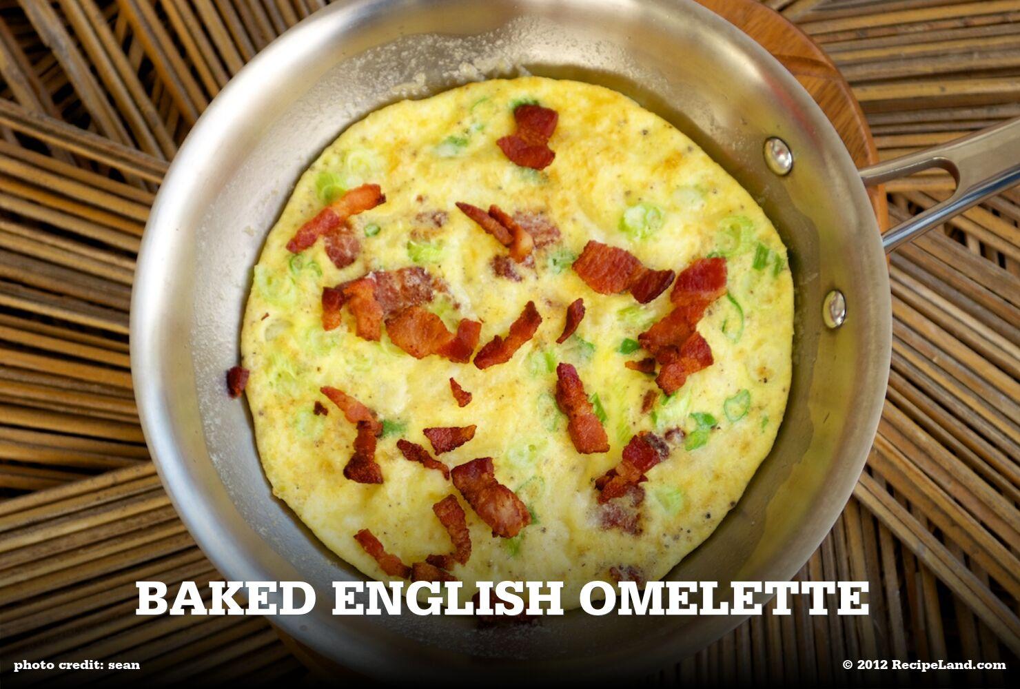 Baked English Omelette