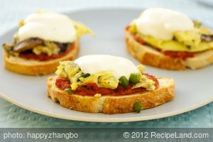 Pizza Egg Melts
